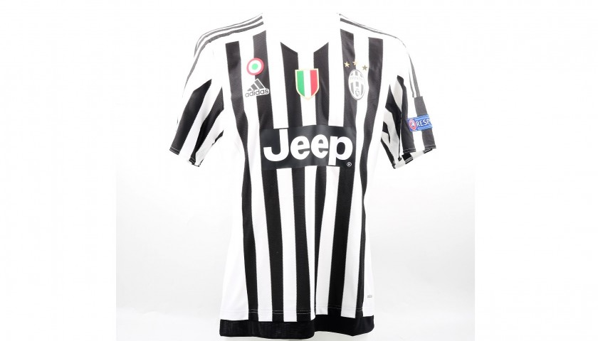 c16374760 Pogba's Match-Issued/Worn Juventus Shirt, 2015/16 UCL - CharityStars