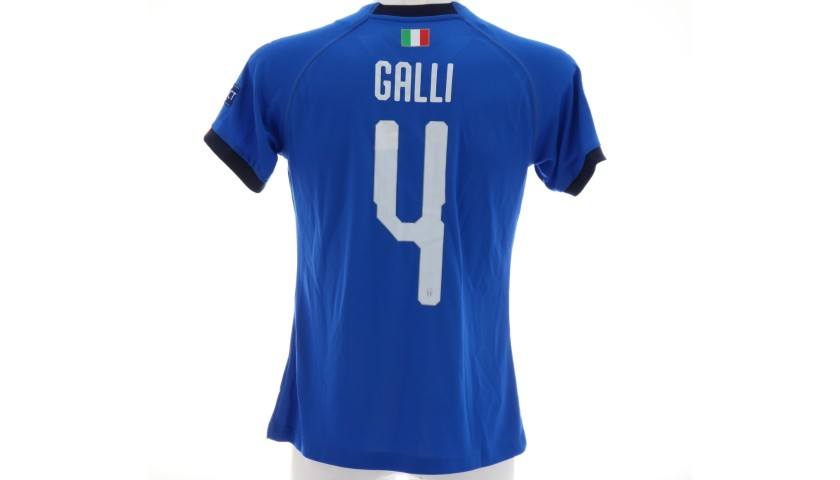 Galli's Match Shirt, Israel-Italy 2019