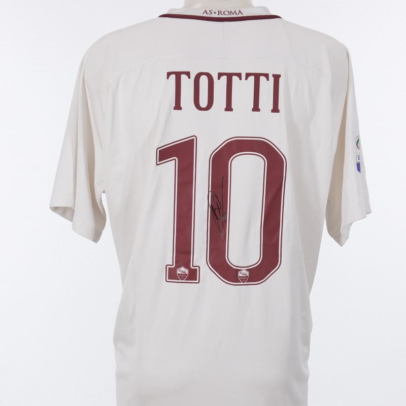 Francesco Totti's Signed Shirt,  2016/2017