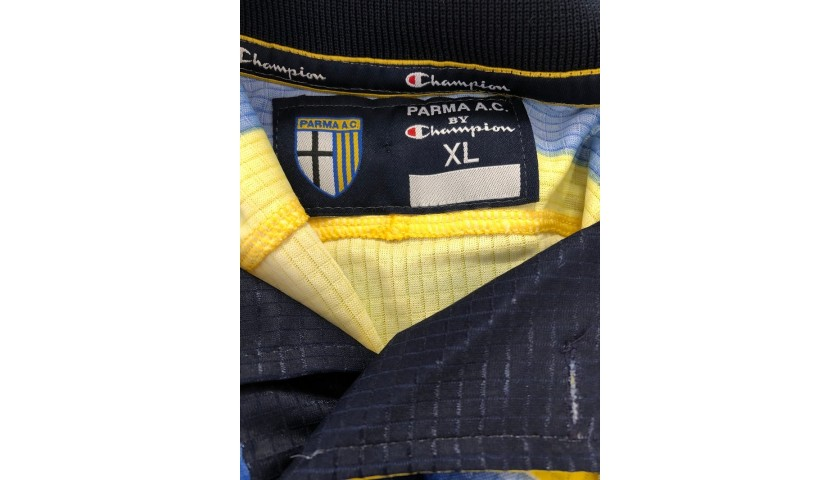 Ortega's Parma Signed Match Shirt, 1999/00