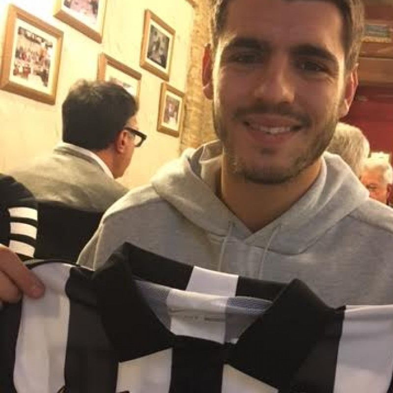 Morata Match Issued/Worn Shirt, Champions League Final - Signed
