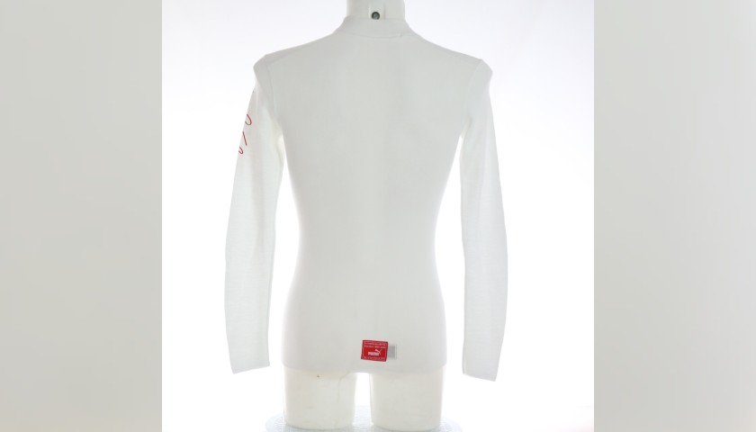 Signed Charles Leclerc's Racing Undersuit 2019