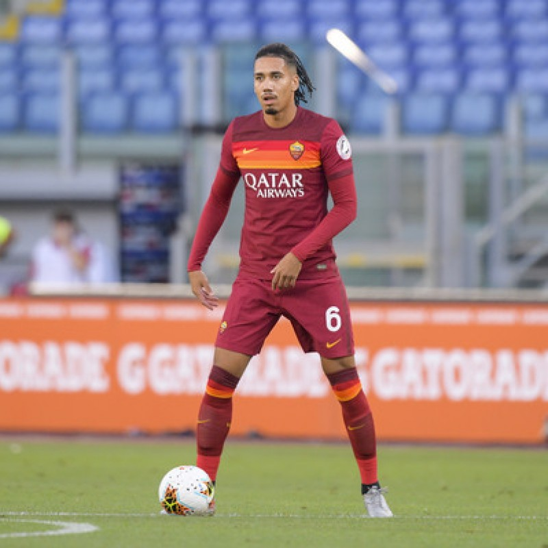 "Smalling's Worn Shirt, Roma-Fiorentina - ""Black Lives Matter"""