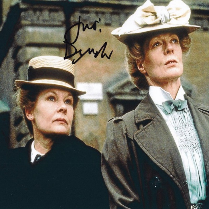 """""""A Room with a View"""" - Photograph Signed by Judi Dench"""