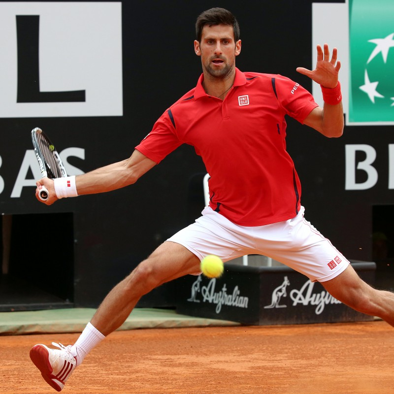Tennis Ball Italian Open 2016, Signed by Djokovic