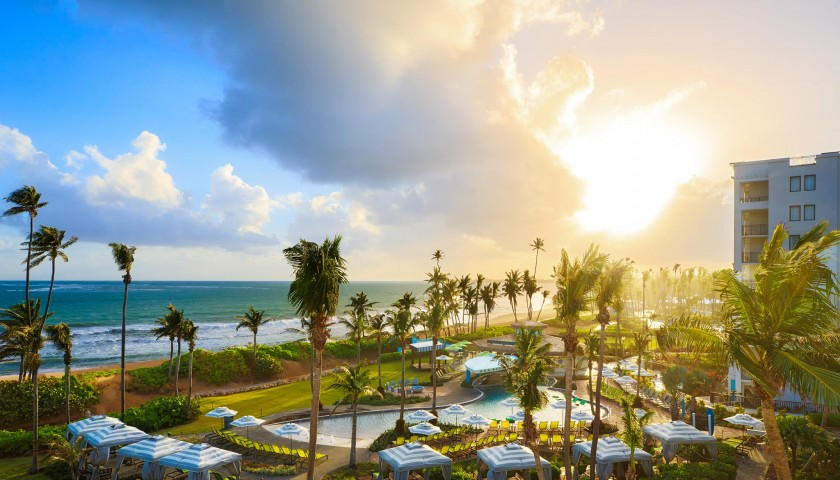 6-Night Stay at the Wyndham Grand Rio Mar Including Airfare