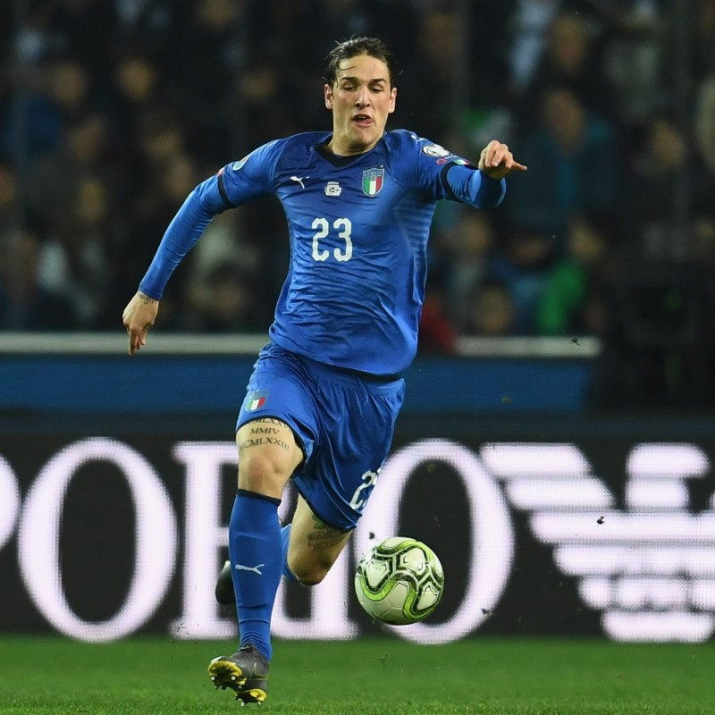 Zaniolo's Match Shirt, Italy-Finland 2019