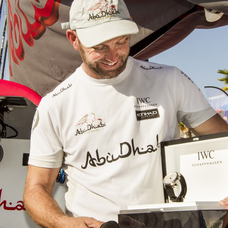 IWC Schaffhausen watch and Abu Dhabi Ocean Racing sailing experience
