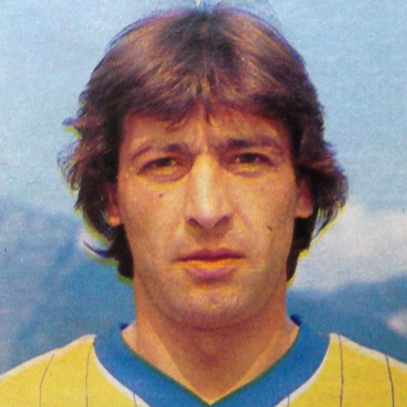 Penzo's Hellas Verona Signed Kit, Scudetto 25 Years