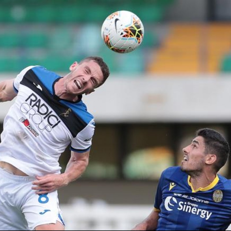 Gosens' Match-Issued Shirt, Hellas Verona-Atalanta 2020