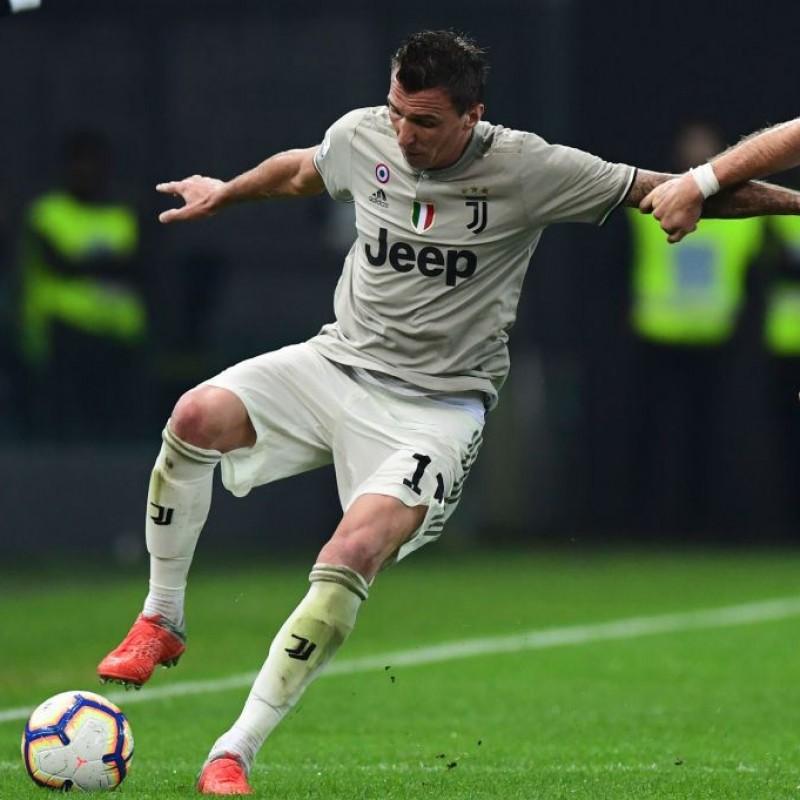 Mandzukic's Official Juventus 2018/19 Signed Shirt