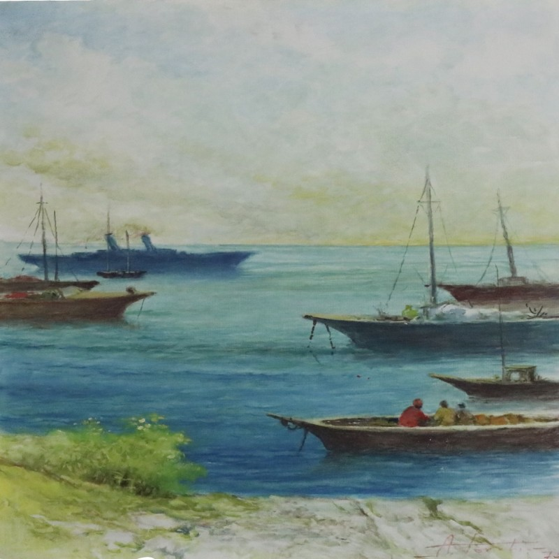 """A Sud del Mediterraneo"" by Aldo Torchio"