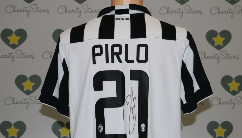 Juventus Pirlo shirt, Serie A 2014/2015 - signed