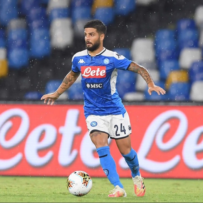 Insigne's Napoli Worn and Signed Shorts, 2019/20