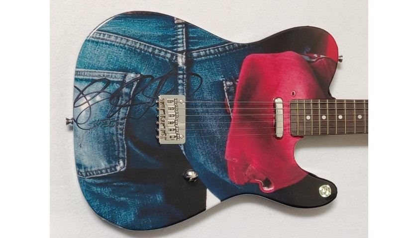 Bruce Springsteen Autographed Electric Guitar
