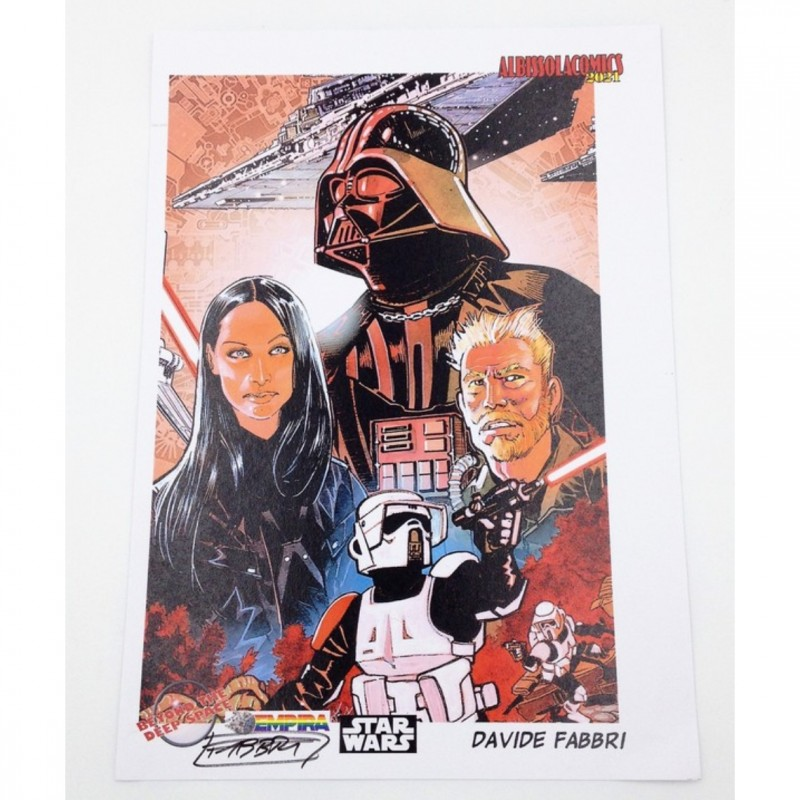 Stars Wars - Limited Edition Board Signed by Davide Fabbri