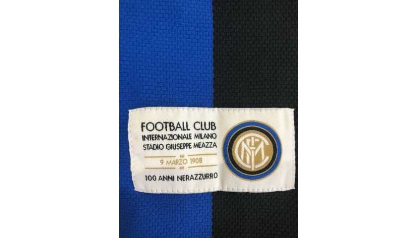 Ibrahimovic's Official Inter Signed Shirt, 2007/08