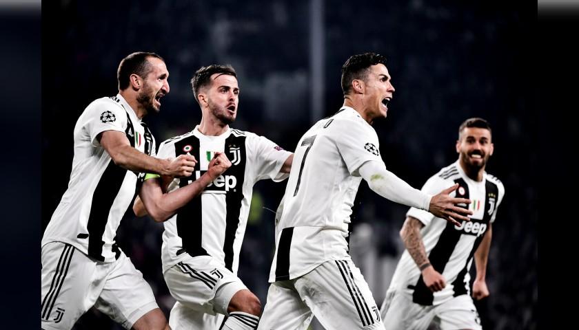 Enjoy the Juventus-Ajax Quarter Final from Row 3 of the Allianz Stadium in Turin