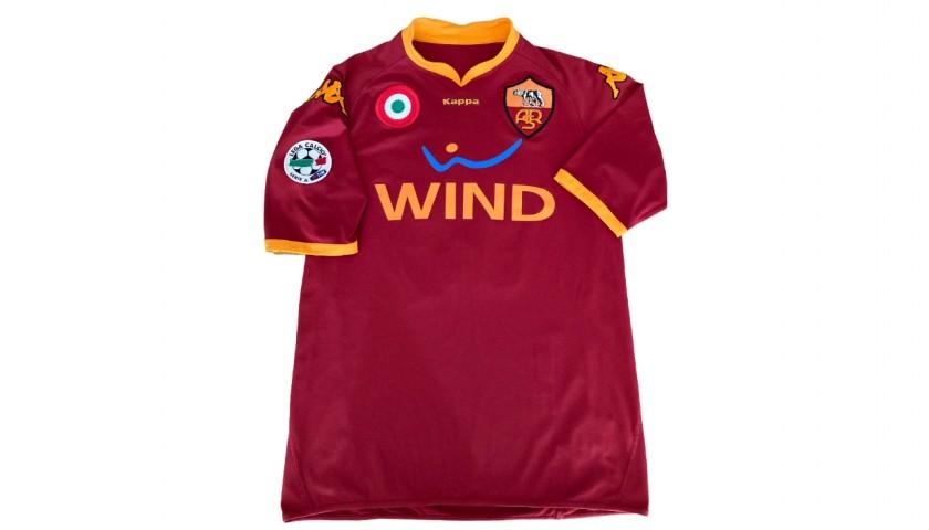 De Rossi's Roma Signed Match Shirt, 2007/08