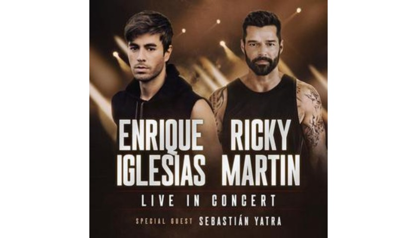 Sit in Ricky Martin's Personal Seats in Miami, FL on Oct 23rd