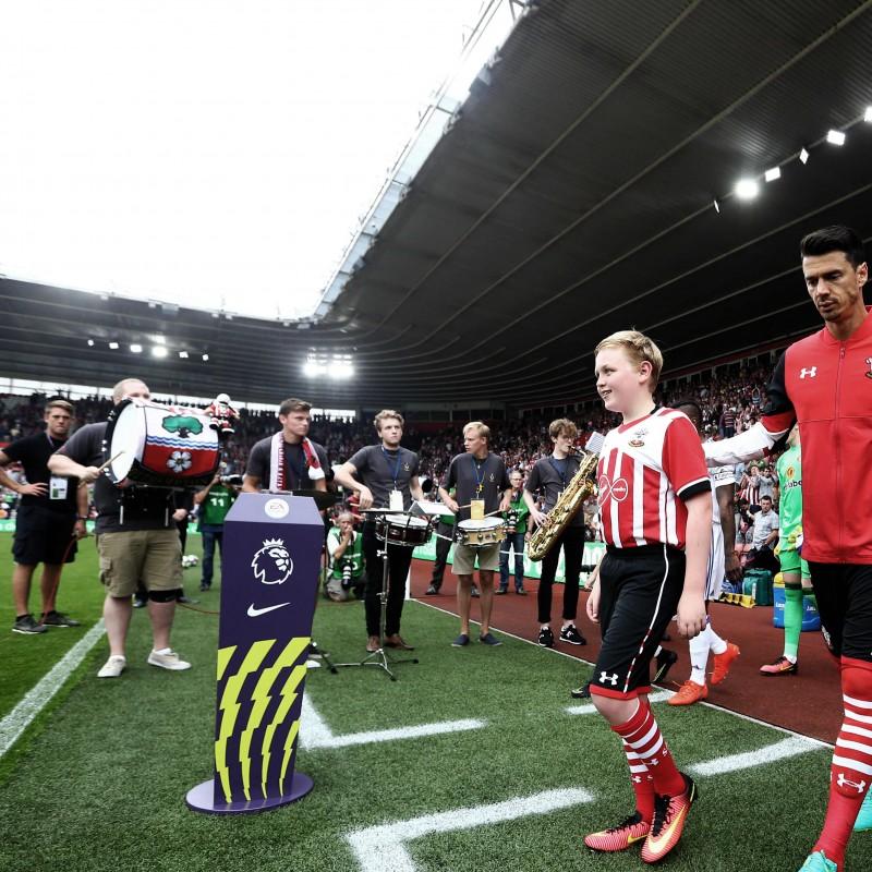 Mascot Package for Southampton FC vs. Tottenham Hotspur FC