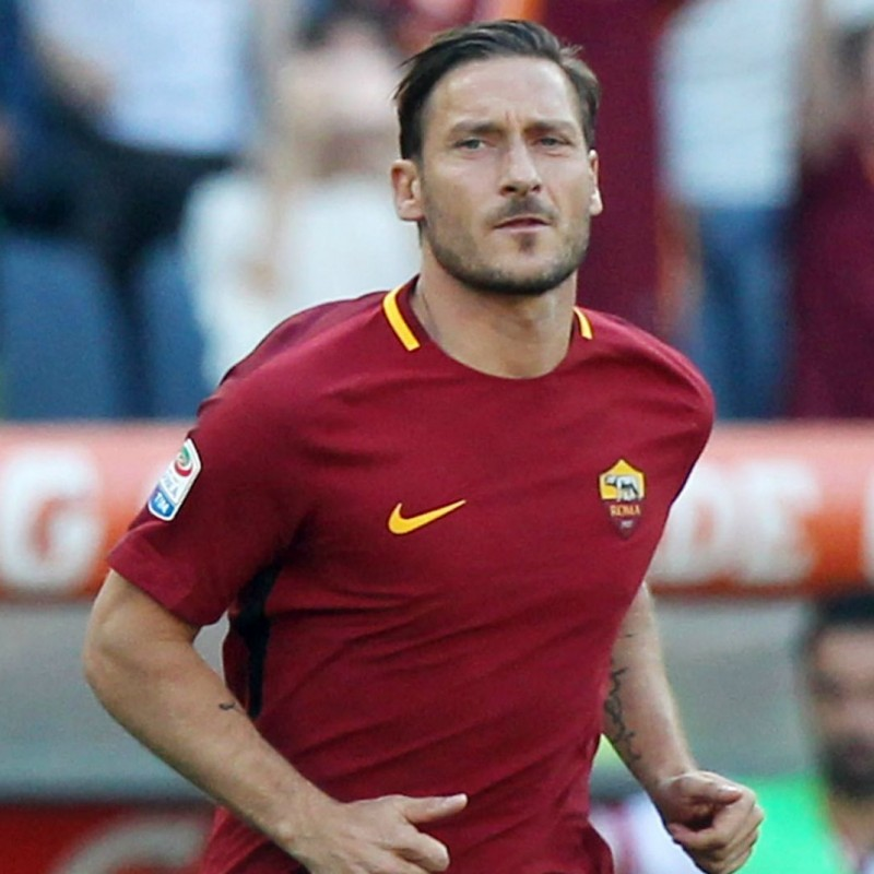 Official Roma Shirt - Totti Last Match