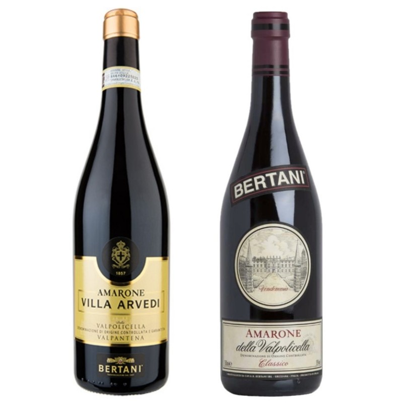 2 Bottles of Amarone from Cantina Bertani