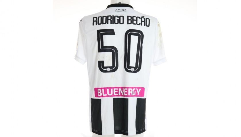 Becão's Special Worn Shirt, Udinese Calcio -SPAL
