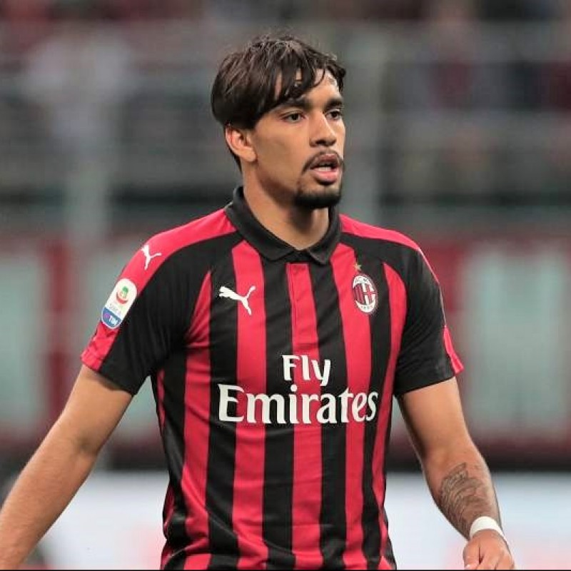 Paqueta's Official AC Milan Signed Shirt, 2018/19