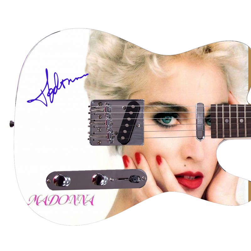 Madonna Custom Graphics Guitar