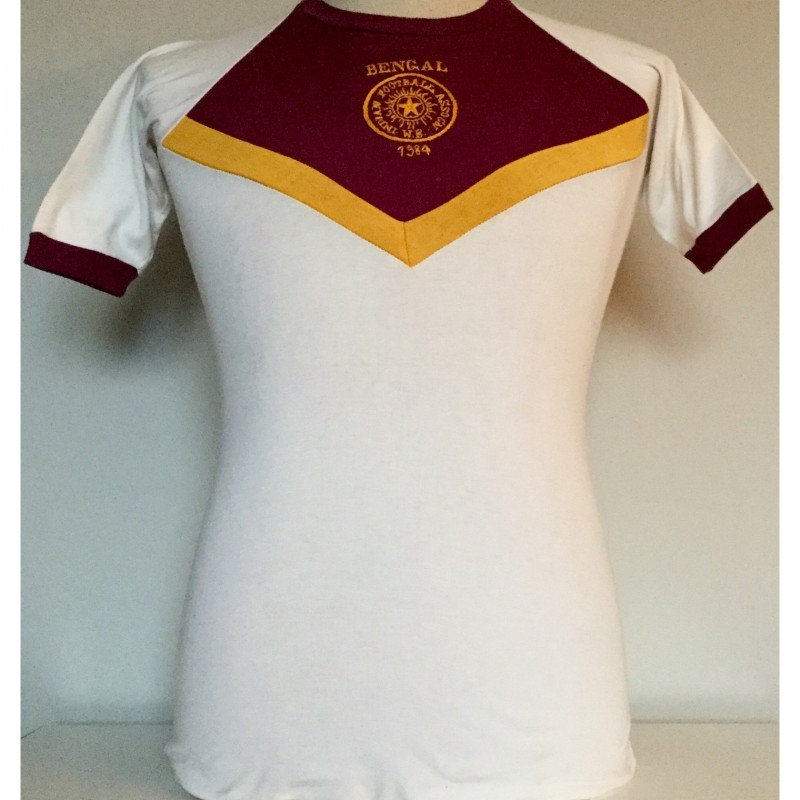 West Bengal Match Shirt Worn vs. Peñarol - Calcutta 1984