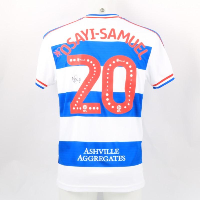 Osayi-Samuel's Queens Park Rangers Match-Issued Signed Poppy Shirt