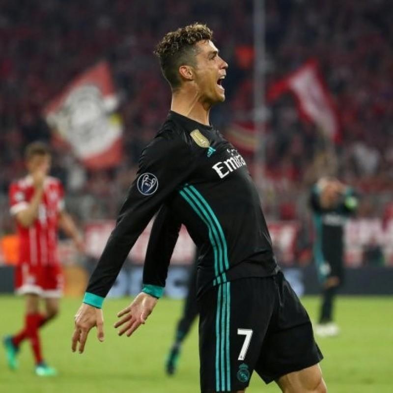 Ronaldo's  Real Madrid Signed Match Shirt, UCL 2017/18