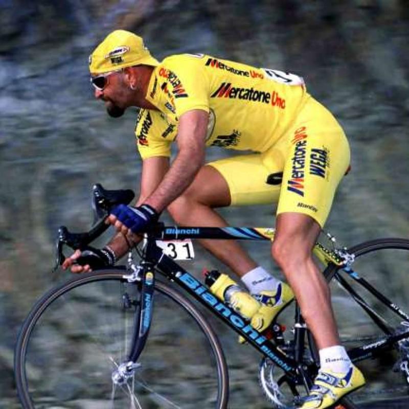 Pantani Team Mercatone Uno Signed Match Jersey