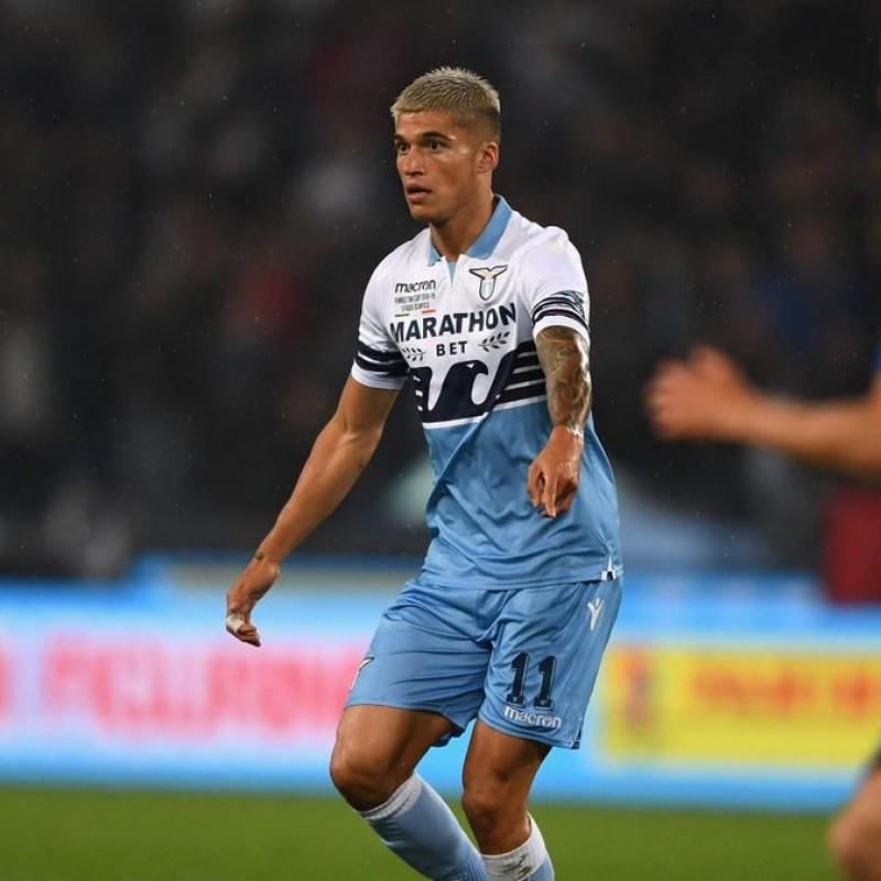 Correa's Official Lazio Signed Shirt, TIM Cup Final 2018/19
