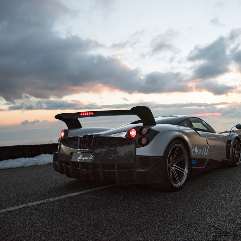 Pagani Automobili experience for two people