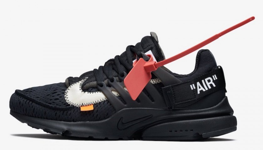 Nike Air Presto Off White Black - CharityStars
