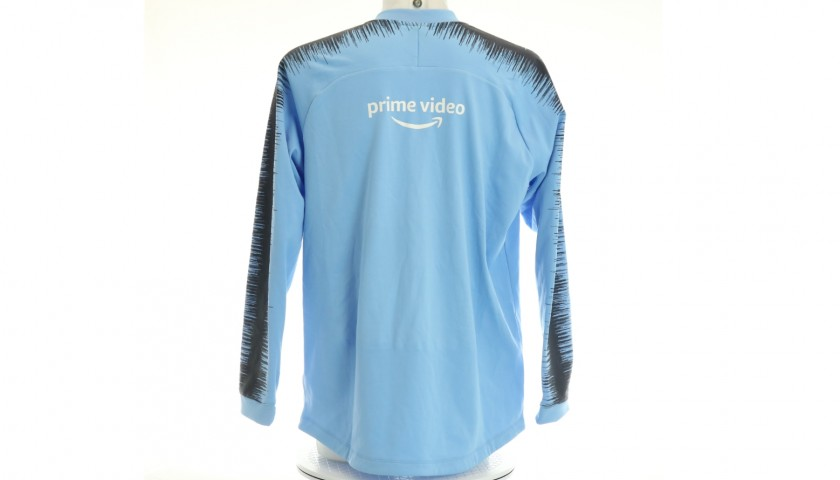 Ederson Worn and Signed Walkout Jacket