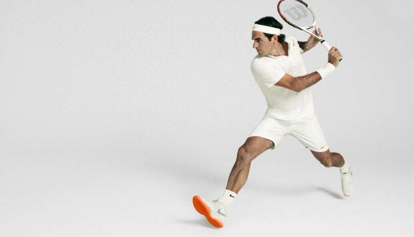 Bandana Signed by Tennis Champion Roger Federer