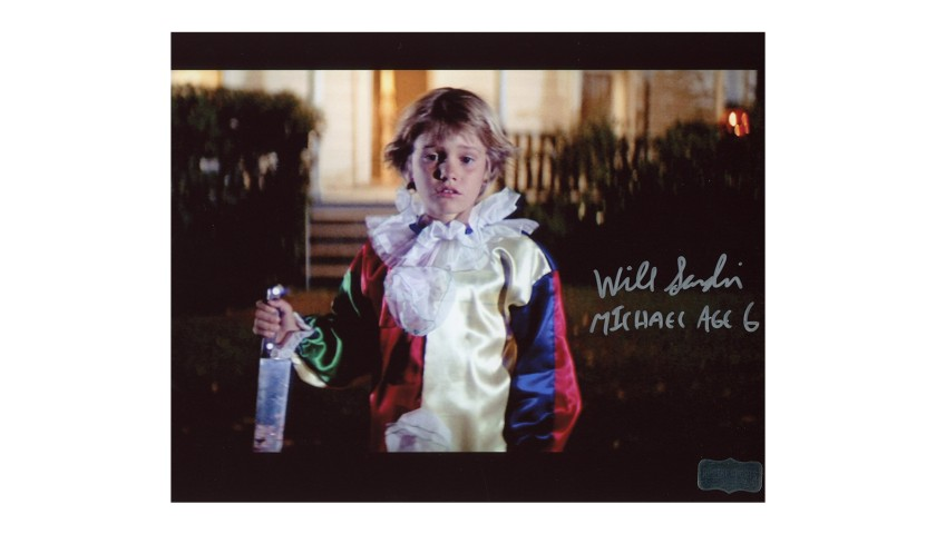 Will Sandin Signed Halloween Photo