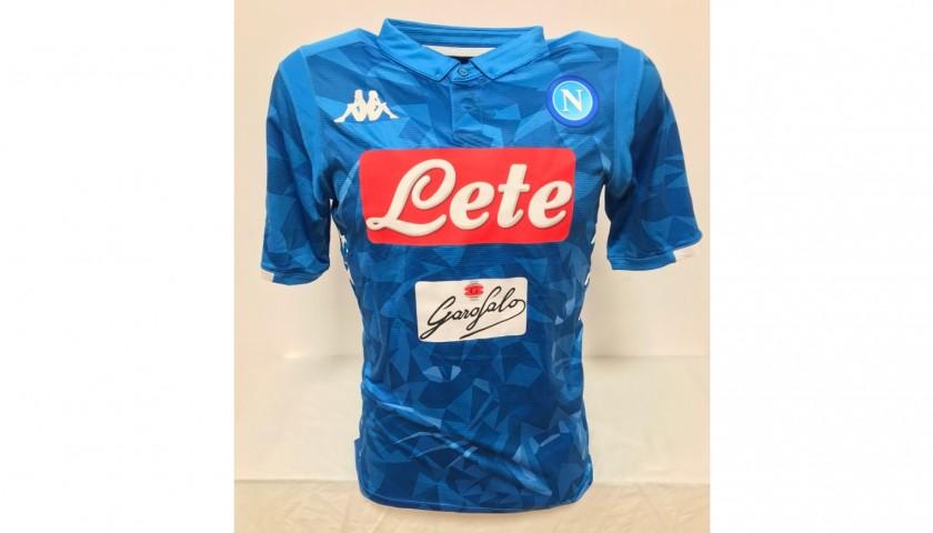 Hamsik's Napoli Signed Match Shirt, 2018/19