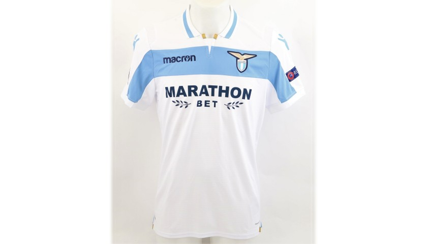 Correa's Match Shirt, Lazio-Marseille, 2018 + Bib
