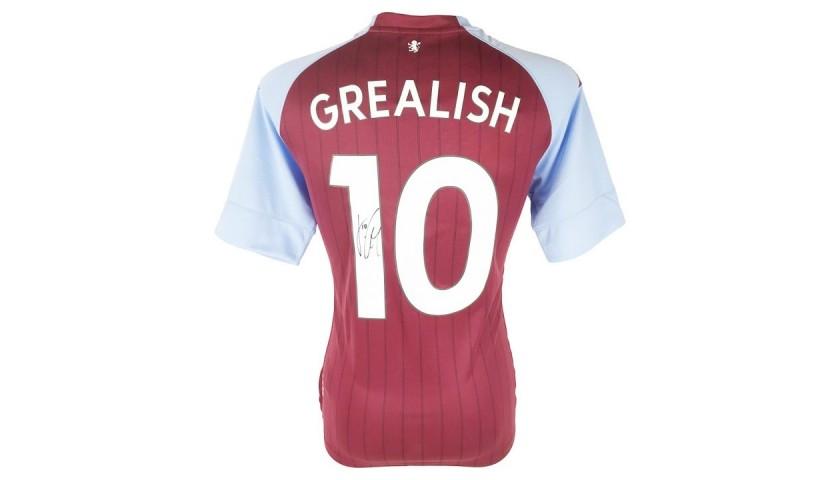 Grealish's Aston Villa Signed Shirt