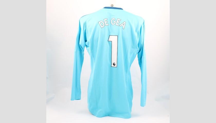 promo code e368d 8f109 De Gea's Manchester Utd, Match-Issue/Worn Shirt, 2017/18 - CharityStars