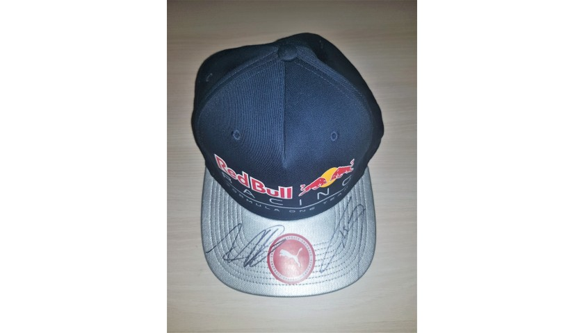 Red Bull Cap Signed by Verstappen and Gasly