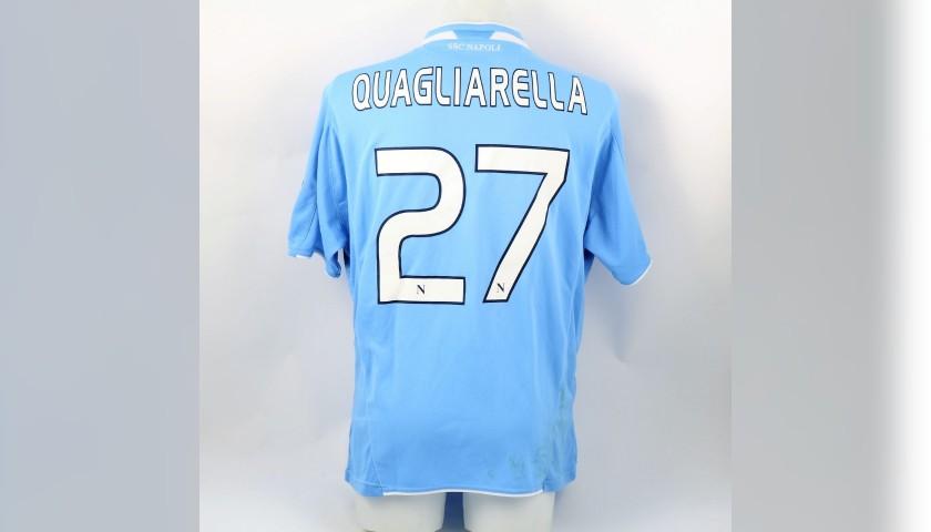 Maglia Quagliarella Napoli, indossata 2009/10