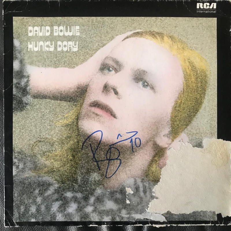 David Bowie Hunky Dory Signed Vinyl LP