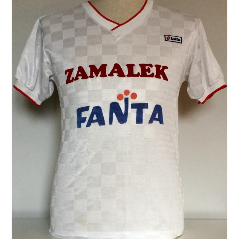 Abdelhamid's Zamalek Match-Worn Shirt, 1990/91
