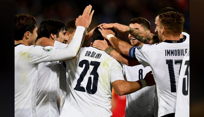 Orsolini's Match Shirt, Italy-Armenia 2019