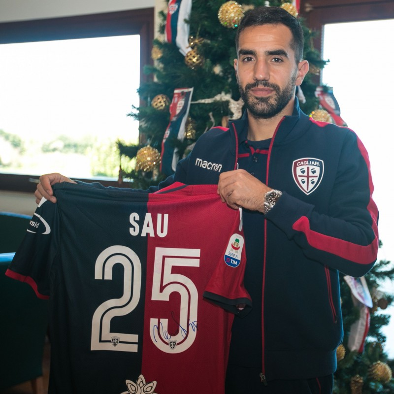 Cagliari Festive Shirt - Worn and Signed by Sau